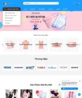 Mẫu website cửa hàng online