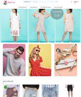 Mẫu website shop thời trang