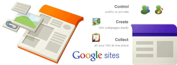 lợi ích của google sites