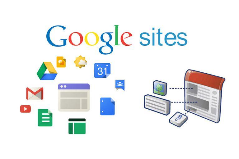 Cách tạo website với google sites