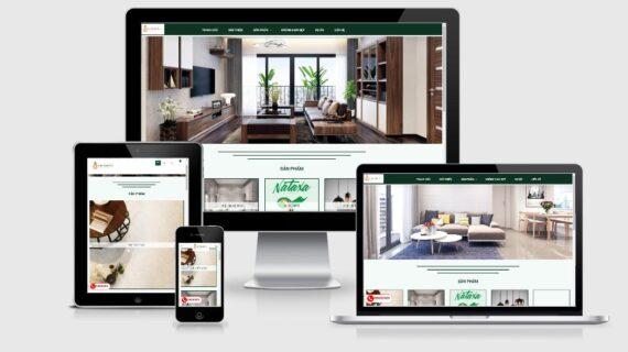 Hình ảnh mẫu web trên các thiết bị