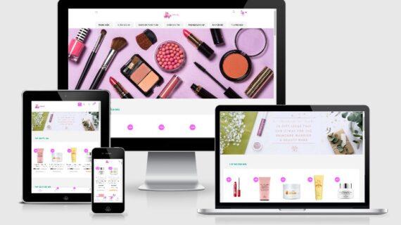 Mẫu giao diện hiện thị đẹp trên màn hình điện thoại, máy tính, ipad