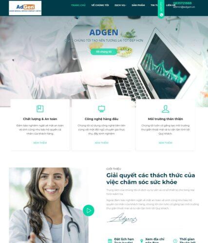 Dự án website Adgen