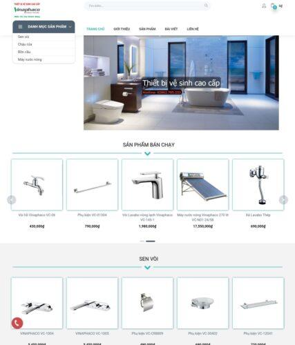 Dự án website Vinaphaco