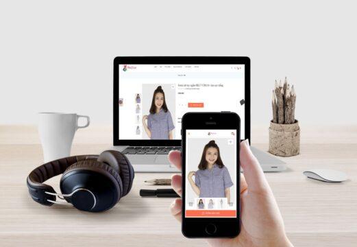Avatar thiết kế giao diện web cho mobile cực chuẩn