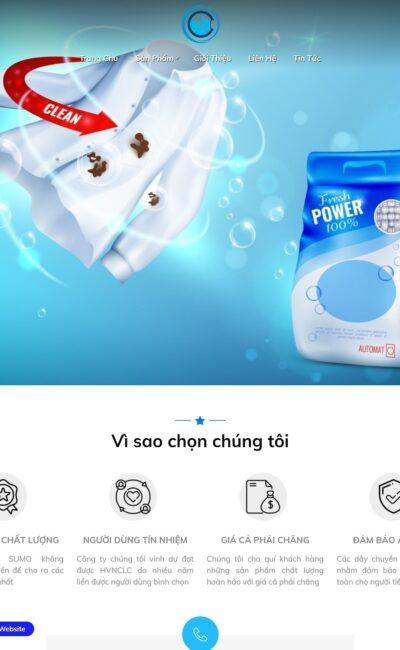 avatar Mẫu website kinh doanh chất tẩy rửa - ct6