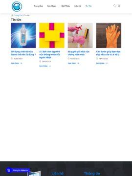 Trang blog của website